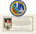 Explorers:Space Exploration, Russian Soyuz TMA-6 / Expedition 11 Flown Embroidered PersonalEmblem Patch from Sergei Krikalev, Signed, with Signed COA. ...