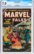 Golden Age (1938-1955):Horror, Marvel Tales #126 (Atlas, 1954) CGC FN/VF 7.0 Off-white to whitepages....