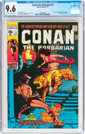 Bronze Age (1970-1979):Adventure, Conan the Barbarian #5 (Marvel, 1971) CGC NM+ 9.6 Off-white to white pages....