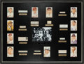 Baseball Collectibles:Others, 1939 Inaugural Hall of Fame Class Signed Display....
