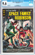 Silver Age (1956-1969):Science Fiction, Space Family Robinson #12 (Gold Key, 1965) CGC NM+ 9.6 Off-white to white pages....