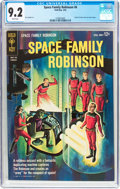Silver Age (1956-1969):Science Fiction, Space Family Robinson #6 (Gold Key, 1964) CGC NM- 9.2 White pages....