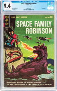 Space Family Robinson #7 (Gold Key, 1964) CGC NM 9.4 White pages