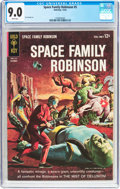Silver Age (1956-1969):Science Fiction, Space Family Robinson #5 (Gold Key, 1963) CGC VF/NM 9.0 White pages....