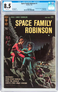 Space Family Robinson #1 (Gold Key, 1962) CGC VF+ 8.5 White pages