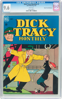 Dick Tracy Monthly #5 Mile High Pedigree (Dell, 1948) CGC NM+ 9.6 White pages