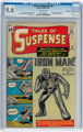 Tales of Suspense #39 Bethlehem Pedigree (Marvel, 1963) CGC NM 9.4 Off-white pages