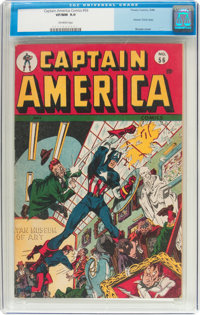Captain America Comics #56 (Timely, 1946) CGC VF/NM 9.0 Off-white pages