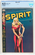 Golden Age (1938-1955):Superhero, The Spirit #22 (Quality, 1950) CBCS VG+ 4.5 Off-white to white pages....