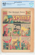 Golden Age (1938-1955):Superhero, The Spirit (weekly newspaper insert) 6/2/40 (Various Publishers, 1940) CBCS VG 4.0 Off-white pages....