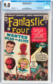 Fantastic Four #7 (Marvel, 1962) CGC VF/NM 9.0 Off-white to white pages
