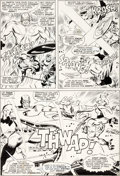 Original Comic Art:Panel Pages, Don Heck Avengers #36 Story Page 13 Original Art (Marvel,1967)....