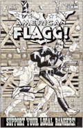 Original Comic Art:Covers, Howard Chaykin American Flagg! #28 Cover Original Art(First, 1986)....