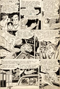 Original Comic Art:Panel Pages, Dick Ayers and Ernie Bache Men's Adventures #27 Story Page 3 Human Torch Original Art (Atlas/Marvel, 1954)....