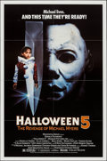 "Movie Posters:Horror, Halloween 5: The Revenge of Michael Myers & Other Lot (Galaxy International, 1989). One Sheets (2) (27"" X 40"" & 27"" X 41""). ... (Total: 2 Items)"
