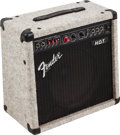 Musical Instruments:Amplifiers, PA, & Effects, Circa 1990s Fender H.O.T. Gray Guitar Amplifier, Serial #LO152741....
