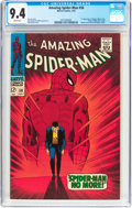 Silver Age (1956-1969):Superhero, The Amazing Spider-Man #50 (Marvel, 1967) CGC NM 9.4 Whitepages....