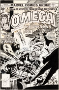 Original Comic Art:Covers, Howard Chaykin and Frank Giacoia Omega the Unknown #4 CoverOriginal Art (Marvel, 1976)....