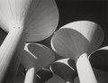 Photographs, Gordon Converse (American, 1921-1999). Huge water towers spring high above the sand dunes near Kuwait, 1974. Gelatin sil...