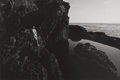 Photographs, Lucien Clergue (French, 1934-2014). Pt. Lobos, 1980. Gelatin silver, 1981. 9-1/4 x 14 inches (23.5 x 35.6 cm). Signed, t...