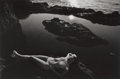 Photographs, Lucien Clergue (French, 1934-2014). Pt. Lobos, 1980. Gelatin silver, 1981. 9-3/8 x 14-1/4 inches (23.8 x 36.2 cm). Signe...