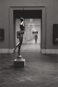Photographs, Elliott Erwitt (American, b. 1928). Metropolitan Museum, New York City, 1949. Gelatin silver, printed later. 18 x 12 inc...