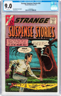 Silver Age (1956-1969):Horror, Strange Suspense Stories #63 (Charlton, 1963) CGC VF/NM 9.0 Whitepages....
