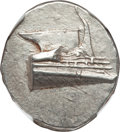 Ancients:Greek, Ancients: LYCIA. Phaselis. Ca. 4th century BC. AR stater (10.28gm). NGC MS 4/5 - 4/5, die shift....