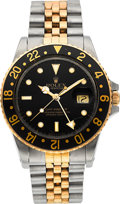 Timepieces:Wristwatch, Rolex Ref. 16753 Two Tone GMT-Master, circa 1986. ...