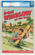 Golden Age (1938-1955):War, Don Winslow of the Navy #31 Mile High Pedigree (FawcettPublications, 1946) CGC NM 9.4 Off-white pages....