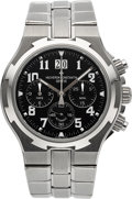 Timepieces:Wristwatch, Vacheron Constantin Very Fine Ref. 49140/423A Steel Overseas Chronograph. ...