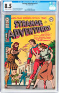 Golden Age (1938-1955):Science Fiction, Strange Adventures #19 (DC, 1952) CGC VF+ 8.5 Off-white to whitepages....