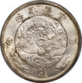 China:Empire, China: Hsüan-t'ung Pattern Dollar ND (1910) UNC Details (Cleaning) PCGS,...