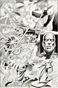 Original Comic Art:Panel Pages, Frank Brunner and Dick Giordano Doctor Strange #2 Story Page6 Silver Surfer Original Art (Marvel, 1974)....