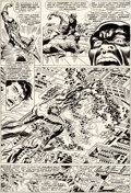 Original Comic Art:Panel Pages, Jim Steranko, Frank Giacoia, and Joe Giella Nick Fury, Agent ofS.H.I.E.L.D. #2 Story Page 19 Original Art (Marvel...