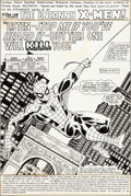 Original Comic Art:Splash Pages, John Byrne and Terry Austin X-Men #123 Splash Page 1Spider-Man Original Art (Marvel, 1979)....
