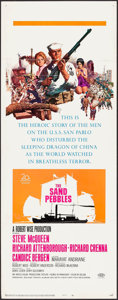 "Movie Posters:War, The Sand Pebbles (20th Century Fox, 1966). Insert (14"" X 36"").War.. ..."