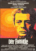"Movie Posters:Foreign, The Stranger (Paramount, 1968). German A1 (23"" X 33""). Foreign.. ..."