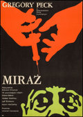 "Movie Posters:Mystery, Mirage (CWF, 1971). Polish One Sheet (22.75"" X 33""). Mystery.. ..."