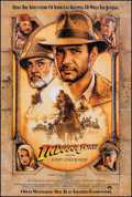 """Movie Posters:Action, Indiana Jones and the Last Crusade (Paramount, 1989). One Sheet(27"""" X 40""""). SS Advance. Action.. ..."""