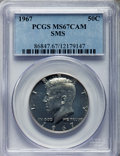 SMS Kennedy Half Dollars, 1967 50C SMS MS67 Cameo PCGS. PCGS Population: (623/52). NGCCensus: (1339/197). ...
