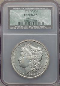 1879-CC $1 -- Whizzed -- NCS. XF Details. NGC Census: (71/1310). PCGS Population: (103/2570). CDN: $2,100 Whsle. Bid for...