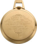 Political:Presidential Relics, Harry S Truman: 1948 Whistle-Stop Campaign Presentation Watch....