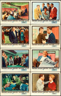 "Movie Posters:Crime, Ocean's 11 (Warner Brothers, 1960). Lobby Card Set of 8 (11"" X14"").. ... (Total: 8 Items)"