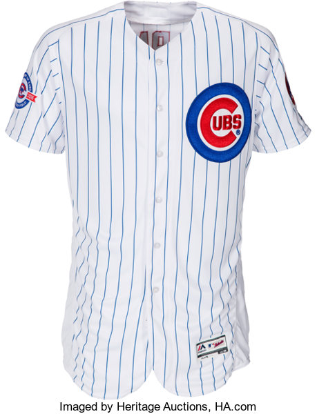 online retailer 89224 008fb 2016 Aroldis Chapman Game Worn Chicago Cubs Jersey ...