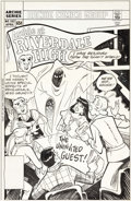 Original Comic Art:Covers, Stan Goldberg Archie at Riverdale High #102 Cover OriginalArt (Archie Comics, 1985)....