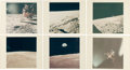 "Explorers:Space Exploration, Apollo 11: Collection of Six Original NASA ""Red Number"" ColorPhotos. ... (Total: 6 Items)"