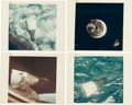 "Explorers:Space Exploration, Gemini 6A: Collection of Four Original NASA ""Red Number"" Gemini 7Rendezvous Color Photos.... (Total: 4 Items)"