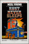 "Movie Posters:Rock and Roll, Rust Never Sleeps (A.M. Films, 1979). One Sheet (27"" X 41""). Rockand Roll.. ..."