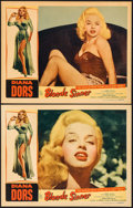 "Movie Posters:Bad Girl, Blonde Sinner (Allied Artists, 1956). Lobby Cards (2) (11"" X 14"").Bad Girl.. ... (Total: 2 Items)"